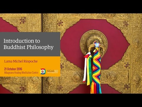 Introduction to Buddhist Philosophy – Lama Michel Rinpoche  (English)