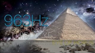 The EYE OF HORUS △ Secrets of the THIRD EYE – Activate your PINEAL GLAND 963 Hz