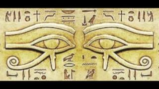 The Egyptian EYE OF RA HORUS   by Elaine DeGiorgio
